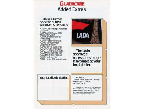 LADACARE - Lada Approved Accessories