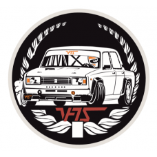 LADA 2105 RIVA VFTS White Rally Drift Sticker LADA 2101-2107 RIVA NOVA LAIKA