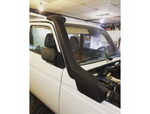 Lada Niva Carburettor and Multipoint Injection Snorkel