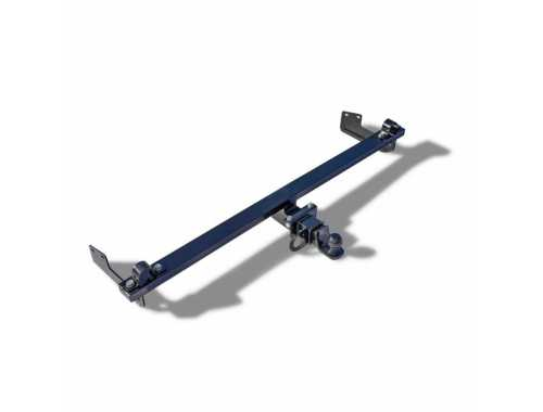 Tow bar with a removable bowl for vehicles with gas equipment 21214-2131 Niva