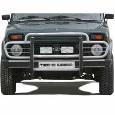 """Protection of the front """"Straight""""  2121 21214 NIVA URBAN 4X4"""