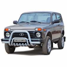 """Protection of the front """"Low"""" 2121 21214 NIVA URBAN 4X4"""