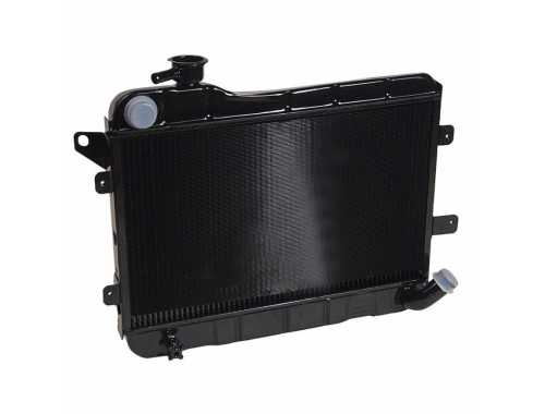 Lada Laika Riva 2104 2105 2-Row Copper Radiator Without Connection For Sensor