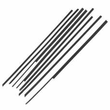 Lada 2101 2102 2103 2106 Sliding Glass Seal Kit (To Use WITHOUT Chrome)