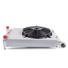 Aluminum Radiator Kit With Diffuser And Fan LADA 2107