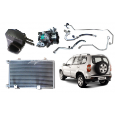Air Conditioner Conditioning AC System Kit LADA 2123 Chevy NIVA 4x4