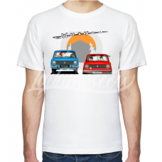 """Continuity of Generations"" LADA Moscow T-Shirt Soviet"