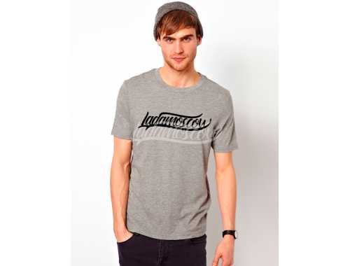 LADA Moscow 'Laconic' T-Shirt Grey