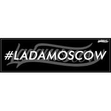 #ladamoscow Sticker Black