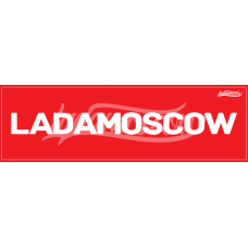 LADAMOSCOW Sticker Red
