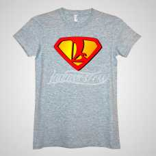 «Super» by LADA Moscow T-Shirt Grey