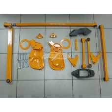 """Suspension Lift Kit """"Factory"""" +50mm LADA 2121 21214 2123 after 2009 NIVA 4x4"""