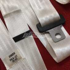 Early 1st Series White Seat Safety Belts Set LADA 2101 2103