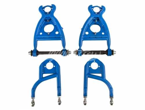 'Drift Tech' Heim Joint +130mm Track Triangle Suspension Arms Set LADA 2101-2107